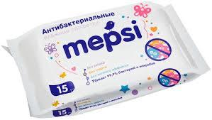<b>Влажные салфетки</b> Mepsi, детские, <b>антибактериальные</b> ...