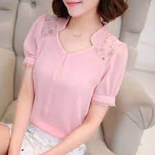 <b>2016</b> Summer <b>New Women lace</b> shirt Hollow Fashion Casual short ...