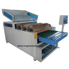 sandpaper machine. roller sanding machine sandpaper