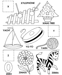 Small Picture Alphabet Letters To Color And Cut Out Coloring Coloring Pages