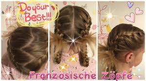 Variation Franz Sischer Zopf Flechtfrisur Dicht Am Kopf