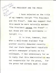 address the president and the press bureau of advertising address the president and the press bureau of advertising american newspaper publishers association 27 1961 john f kennedy presidential