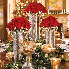 Impressive Table Decorating Ideas for red rose table decorations
