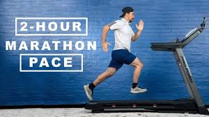 Treadmill Pace Chart Km How Fast Is A 2 Hour Marathon Pace