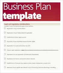 Basic Business Plan Outline Free Business Plan Template Pdf Template Business