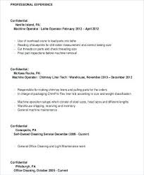 Machine Operator Resume Experienced Cnc Samples – Komphelps.pro