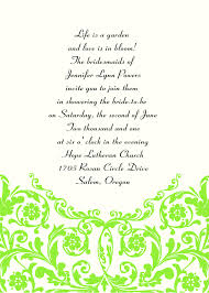 Invitations Wedding Invitation Wording Examples For Fantastic