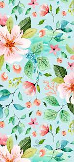 Floral Tropical Phone Wallpapers ...