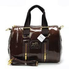 Coach Smooth Medium Coffee Luggage Bags 21658