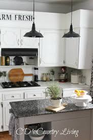 Industrial Looking Kitchen Vintage Industrial Style Pendant Lights And A Giveaway