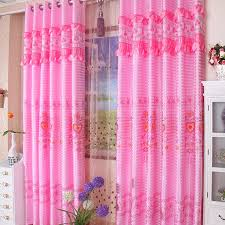 Perfect ... Pink Lace Embossed Bedroom Curtains For Marriage. Loading Zoom