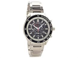 citizen watches citizen eco drive watches f hinds jewellers citizen at2380 51e stainless steel eco drive chronograph bracelet watch w38102