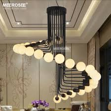 modern loft industrial chandelier lights bar stair dining room lighting retro meerosee chandeliers lamps fixtures lustresin from contemporary industrial lighting a4 lighting