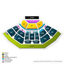 Cellairis Amphitheatre At Lakewood 2019 Seating Chart