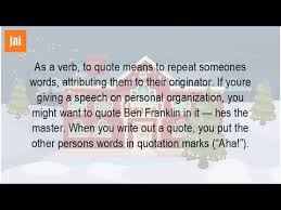 What Is The Meaning Of Quoting YouTube New Meaning Of Quote