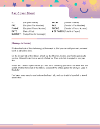 Fax Cover Letter Template Pdf Printable Fax Cover Sheet Facovers Officecom Easy Template