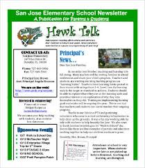 Newletter Formats 20 Best Newsletter Formats Free Word Pdf Documents