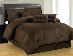chocolate brown duvet cover double chocolate brown duvet cover king 7 pc solid brown comforter set