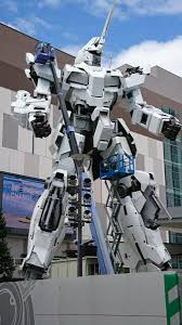 life size unicorns tokyos new life size gundam giant robot statue to be completed