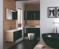 gloss gloss modular bathroom furniture collection. Breathtaking Black Gloss Bathroom With A Elegant Contrasting White Lustre Solid Worktop. In The Vogue Modular Furniture Collection S