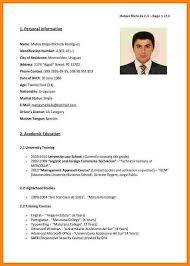 6 Cv English Examples Reporter Resume