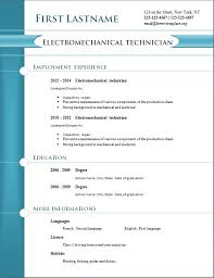 Cv Job Format Download Cv Template Doc Cv And Resume Samples