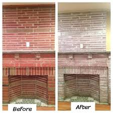 whitewash brick fireplace before and after whitewashing fireplace bricks white washed brick fireplace whitewash brick fireplace whitewash brick fireplace