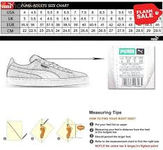 Bts Puma Shoes Size Chart Puma Shoes Size 8 In Cm Www Irishpostoffices Org