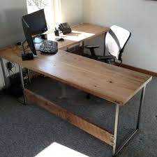 custom office desks. Contemporary Industrial Reclaimed Wood And Steel By Daniel Chase Custom Office Desks E
