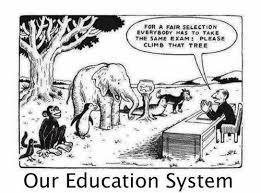 今の教育ってつまりこういうことだよね1枚のイラストで説明らばq