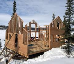Framing the Cabin Exterior Walls Ana White Woodworking Projects