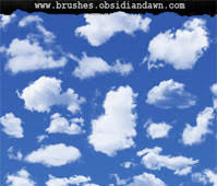 Cloud Photoshop Brushes Clouds Ii Photoshop Brushes Free Photoshop Brushes At Brushez