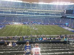 Giants Stadium Football Seating Chart Metlife Stadium Section 215 Giants Jets Rateyourseats Com