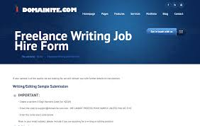 places to lance writing jobs you ll have to write a sample and if it s something that clients are interested you ll land a gig