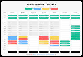 Revision Schedule Template Revision Timetables Everything You Need To Know Adapt