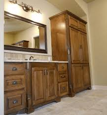 bathroom cabinets company. custom bathroom cabinets with linen storage built by cabinet makers jb murphy company m