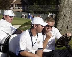David Howell, Sergio Garcia, & Colin Montgomerie - Historic Golf Photos