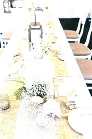 target table runners round table runner round table runners burlap table runners for inch round