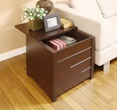 black end table with drawer modern end tables with storage modern