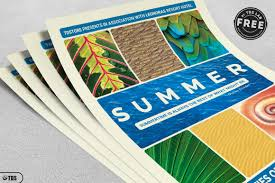 Free Summer Vacation Flyer Template | Free Psd | Ui Download
