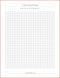 Blank Printable Grid Paper Square Graph To Print Template