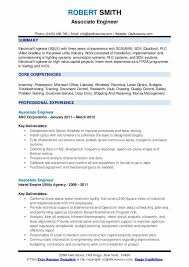Professional Engineer Resume Samples Associate Engineer Resume Samples Qwikresume