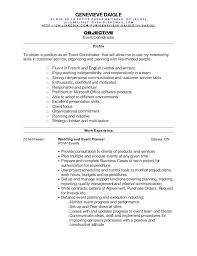 Event Planner Resume Custom Event Planner Resume