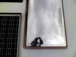 Sonnenschutz Durch Bekleben Der Fenster Mit Spiegelfolie