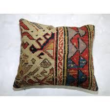 kazak rug pillow