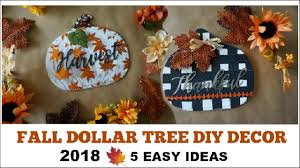 Cheap easy fall decorating ideas Outdoor Youtube Premium Youtube Fall Dollar Tree Diy Decor 2018 Easy Decor Ideas Momma From