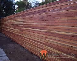 Horizontal 1x4 redwood fence garden Pinterest Fences and Woods