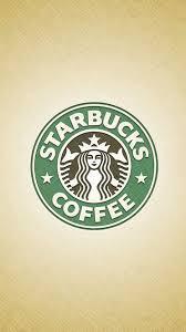 starbucks logo wallpaper. Plain Wallpaper Starbucks Logo Coffee IPhone 6 Plus HD Wallpaper For A