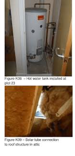 figure k07 missing insulation or thermal bridge in ceiling plot 23 bathroom first floor