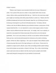 cultural awareness essays similar essays